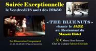 "Jazz ""The Bluenuts"" au restaurant du Manoir"