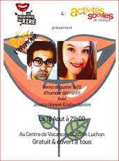 Spectacle d'humour