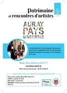 Découverte guidée des ateliers d'artistes et du patrimoine de la ville d'Auray