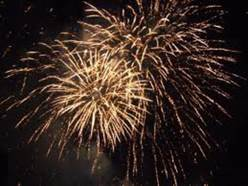 Fireworks in Auray