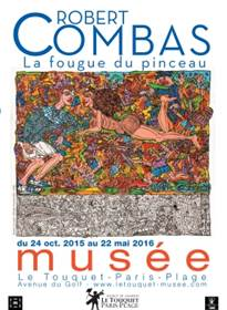 "Exposition ""Robert Combas : la fougue du pinceau"""