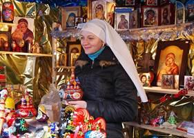 Exposition des Moniales Biélorusses au Sanctuaire de Ste-Anne