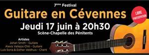 7ème festival Guitares en Cévennes