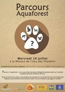 Parcours Aquaforest en famille
