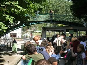 10h15 : Départ du Parc de la Villette