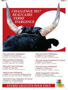 Course Camarguaise - Challenge 2017 Beaucaire Terre d'Argence