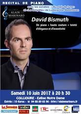 Concert Piano de David BISMUTH - Les Amis d'Alain MARINARO
