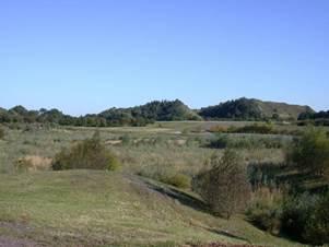 harnes - grands espaces et patrimoine naturel - le terril 9 nord de courrieres