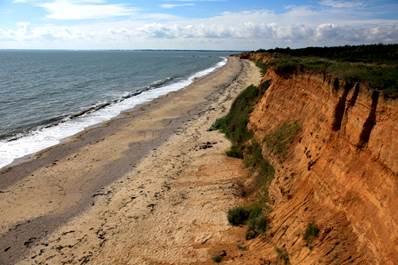 Falaise de la Mine d'Or - Pénestin - Morbihan Bretagne Sud CDT56 - MS