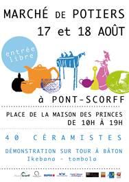 Marché des potiers - PONT SCORFF - Groix - Lorient - Morbihan Bretagne Sud