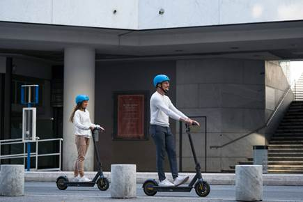 10% discount on rentals of our electric scooters! Christmas Holidays 2020/21