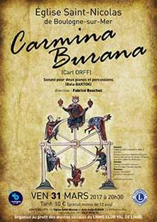 Concert : Carmina Burana
