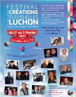 Festival des Créations Télévisuelles de Luchon 2017