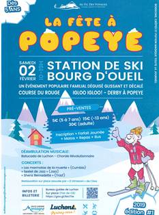 La Fête à Popeye à Bourg d'Oueil