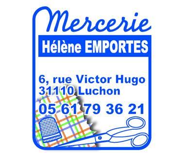 Logo Mercerie Hélène EMPORTES
