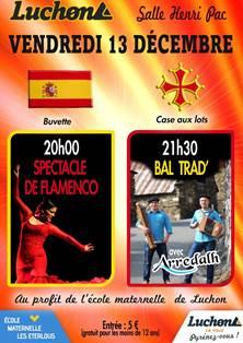 Spectacle Flameno et Bal Trad