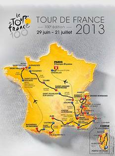 Affiche Tour de France 2013