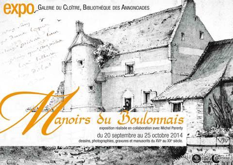 """Conférence """"Les manoirs du boulonnais"""""""