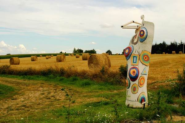 Sentier-Sculptures-Réminiac-Morbihan-Bretagne-Sud Pierre Sentier