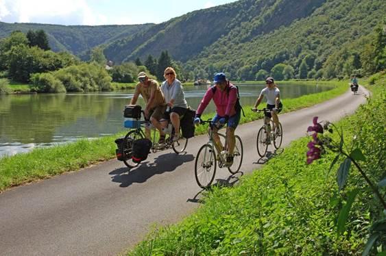 The Green Track by bike