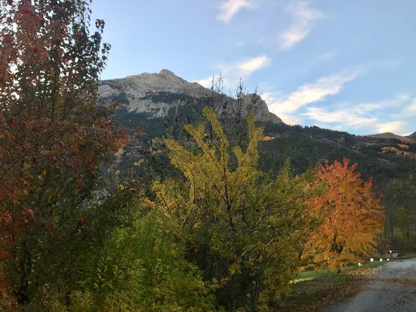 Les couleurs d'automne en vallée de Barcelonnette