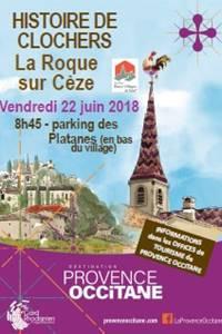 Histoire de Clochers à La-Roque-sur-Cèze