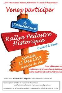 Rallye pédestre historique