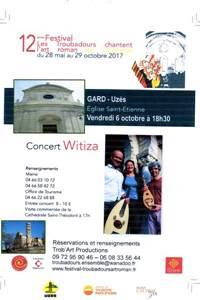 Concert les troubadours chantent l'art Roman