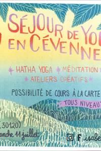 Séjour de yoga en Cévennes