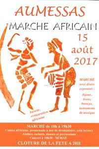 Fête et marché africain