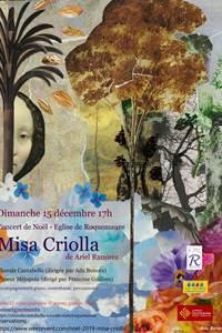 """Concert de Noël """"Misa Criolla"""""""