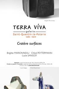 Exposition - Cratère Surface