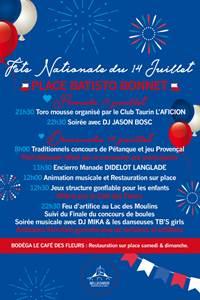 Fête Nationale du 14 juillet - Bellegarde