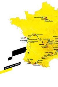 6ème étape du Tour de France Le Teil - Le Mont Aigoual
