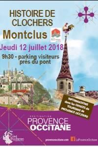 Histoire de Clochers à Montclus