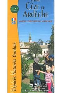 """Cartoguide """"Entre Cèze et Ardèche"""""""