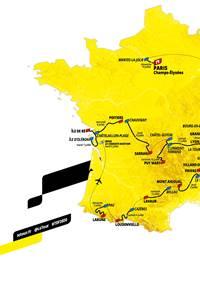 6ème étape du Tour de France Le Teil - Le Mont Aigoual / ÉPREUVE REPORTÉE AU 3 SEPTEMBRE 2020