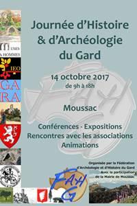 Journée d'histoire et d'archéologie du Gard
