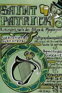 Saint Patrick : Repas Concert