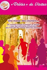 Drôle de visite à Aiguèze, Vénéjan et La Roque sur Cèze