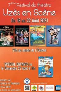Uzès en scène - 7e édition du Festival de l'humour, théâtre et comédie