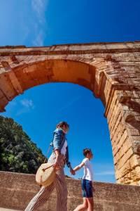 Cap sur la fin de l'été et la rentrée au Pont du Gard