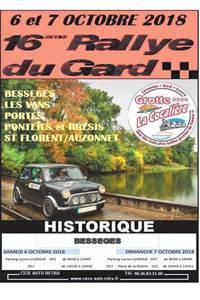 Rallye du Gard Historique 2018