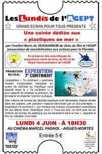 """Soirée dédiée """"aux plastiques en mer"""""""
