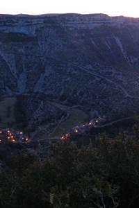 Nocturne sur le Cirque de Navacelles