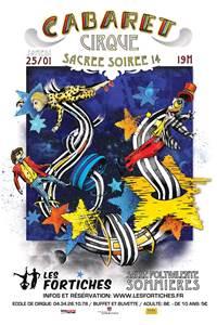 Cabaret cirque  Sacrée Soirée 14 Sommières