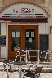 Restaurant A Table