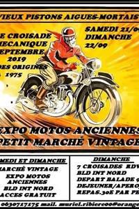 Exposition de motos anciennes