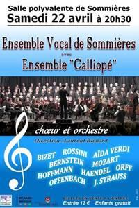 Concert Ensemble Vocal de Sommières
