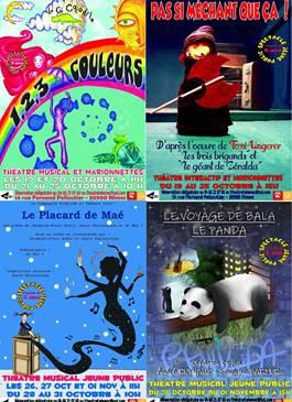 Spectacles jeunes public diffusés au Télémac Théâtre